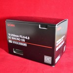 〔më〕SIGMA 18-250mm F3.5-6.3 DC MACRO OSに変えました