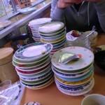 〔më〕息子さん達のお祝いで回るお寿司に行ってきた!
