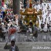〔më〕函館八幡宮例大祭『石段かけのぼり』に行ってきました